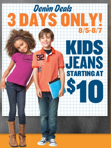 old navy jeans sale back to school