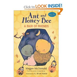 Amazon filler item ant and honey bee halloween book