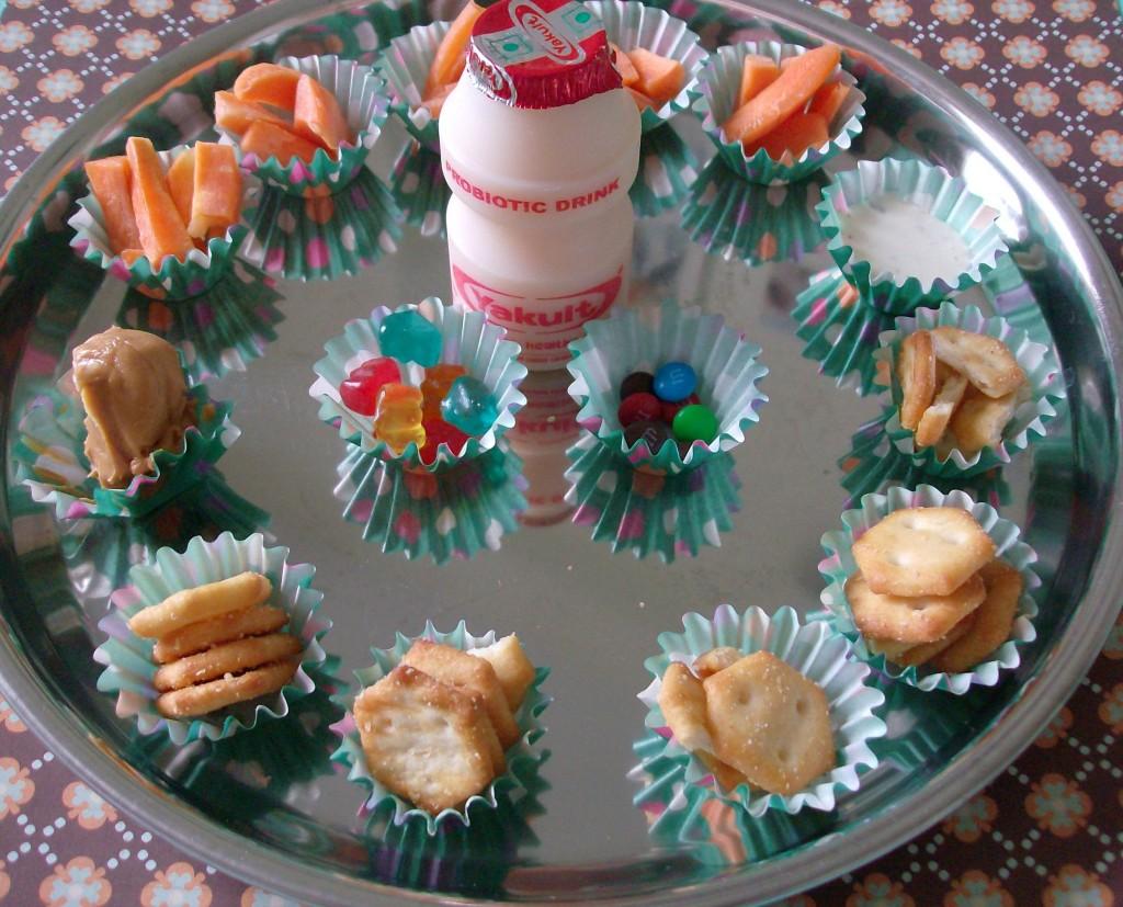 Mini Muffin Tin Meal