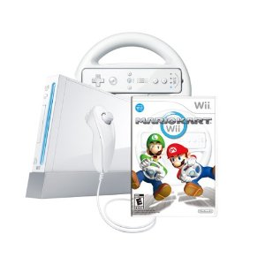 amazon wii mario cart bundle