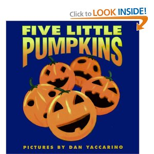 five little pumpkins board book amazon