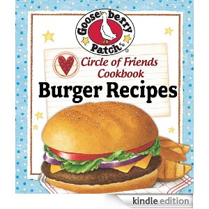 gooseberry cookbook burger recipes kindle nook freebie