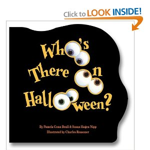 whos there on Halloween board book amazon