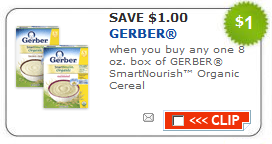 gerber smartnourish cereal coupon