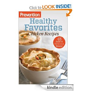 kindle freebie prevention healthy recipes cookbook