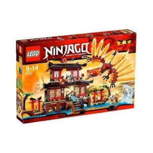 Amazon Toy Deals: lego ninjago fire temple