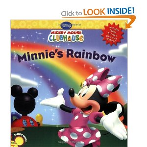 mickey mouse clubhouse book minnies rainbow