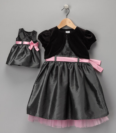 zulily dollie and me holiday dresses