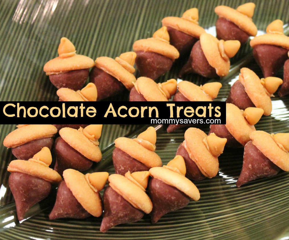 chocolate acorn treats