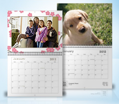 free photo calendar vistaprint