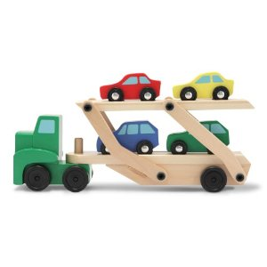 melissa doug car carrier amazon toy deals cyber monday