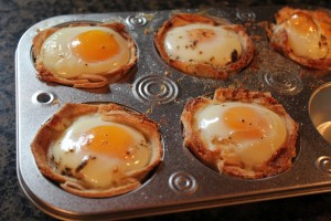 egg cups recipe