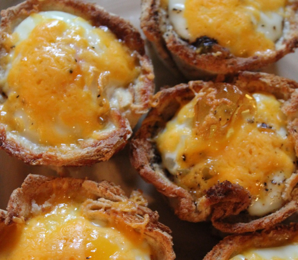 egg and toast muffin cups recipe