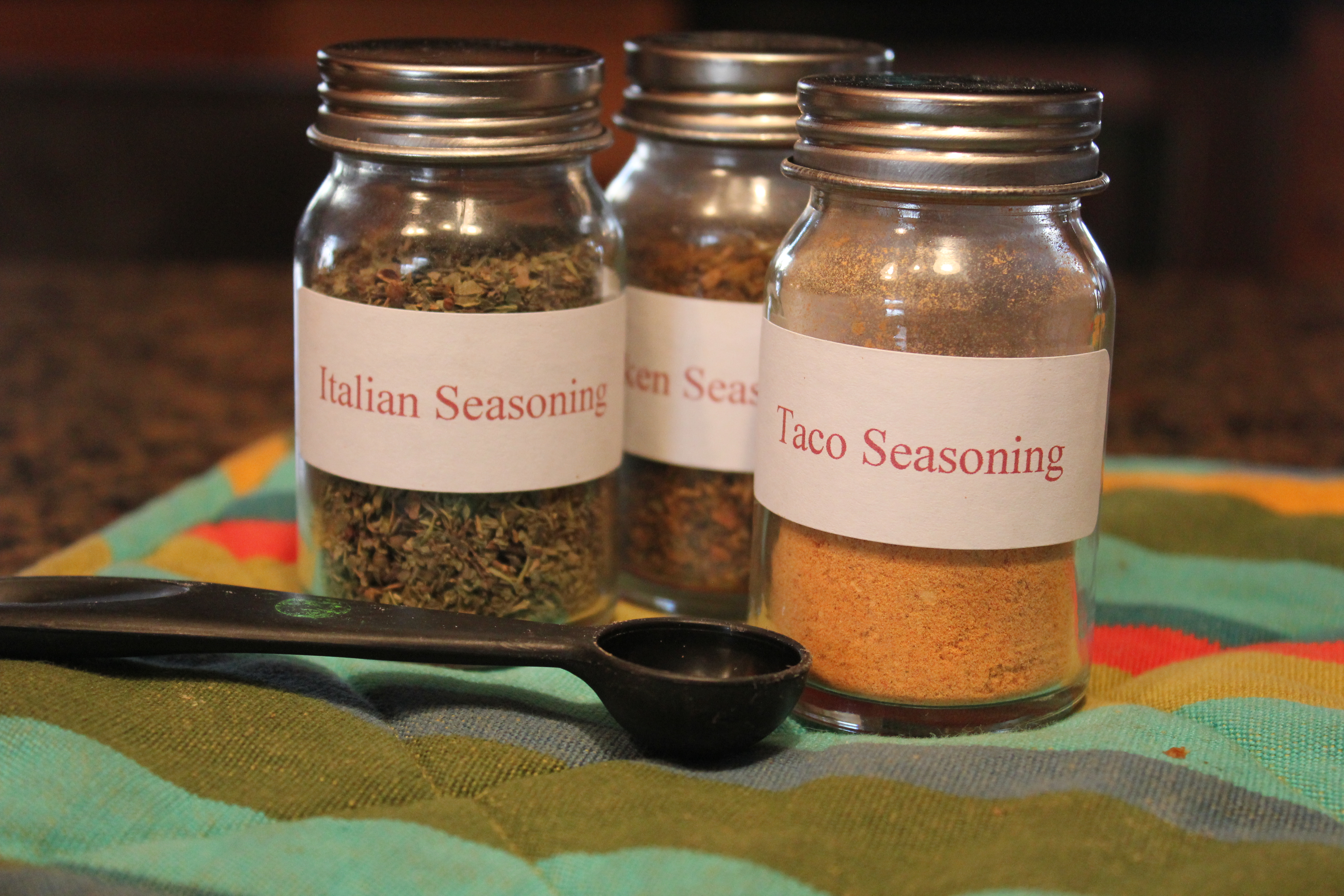 make your own seasoning blends spices