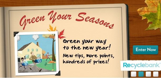 recyclebank green your seasons