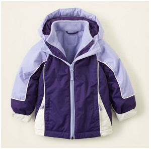 Children's Place - Girls 3-in-1 Jacket