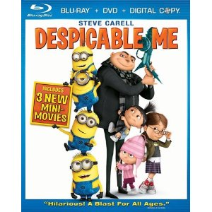 Despicable Me (Three-Disc Blu-ray/DVD Combo + Digital Copy) (2010)