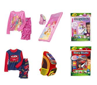 Disney Character 5-piece Sleepover Value Bundle - Walmart