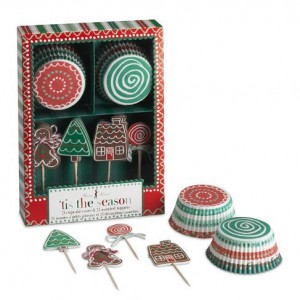 Holiday Cupckae Decorating Kit - Williams Sonoma