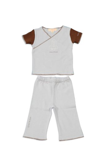 Infant Boy: Organic Cotton Two-Piece Pant and Top Set