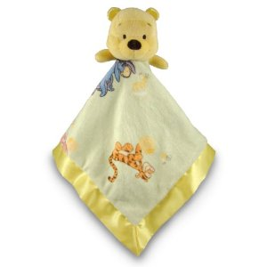 Kids Preferred Red Shirt Pooh Blankie