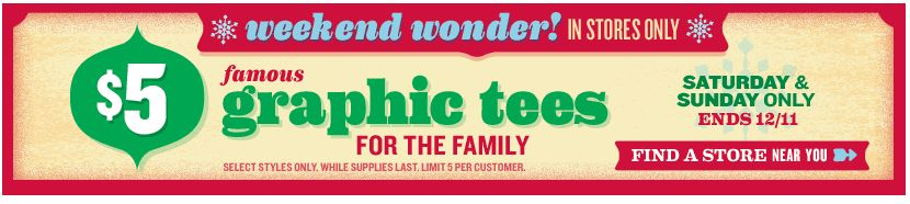 Old Navy Weekend Wonder - Graphic Tees