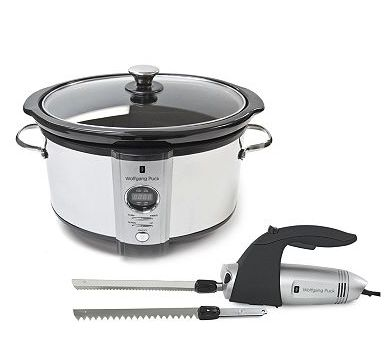 Wolfgang Puck Slow Cooker & Electric Knife - Kohl's