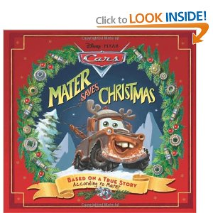 cars christmas book