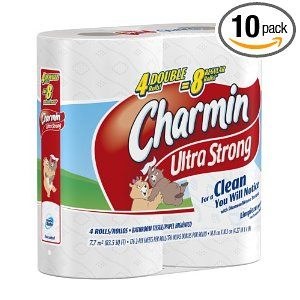 charmin ultra strong 10 pack