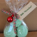 homemade christmas bath bombs fizzies