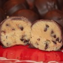 cookie dough truffles chocolate