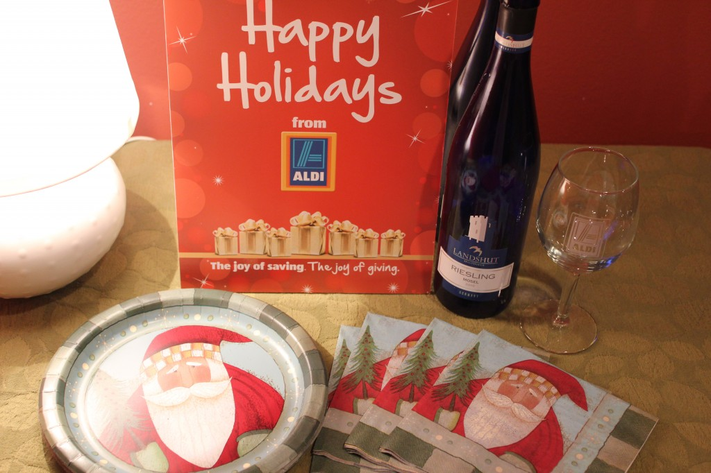 aldi giveaway holiday party