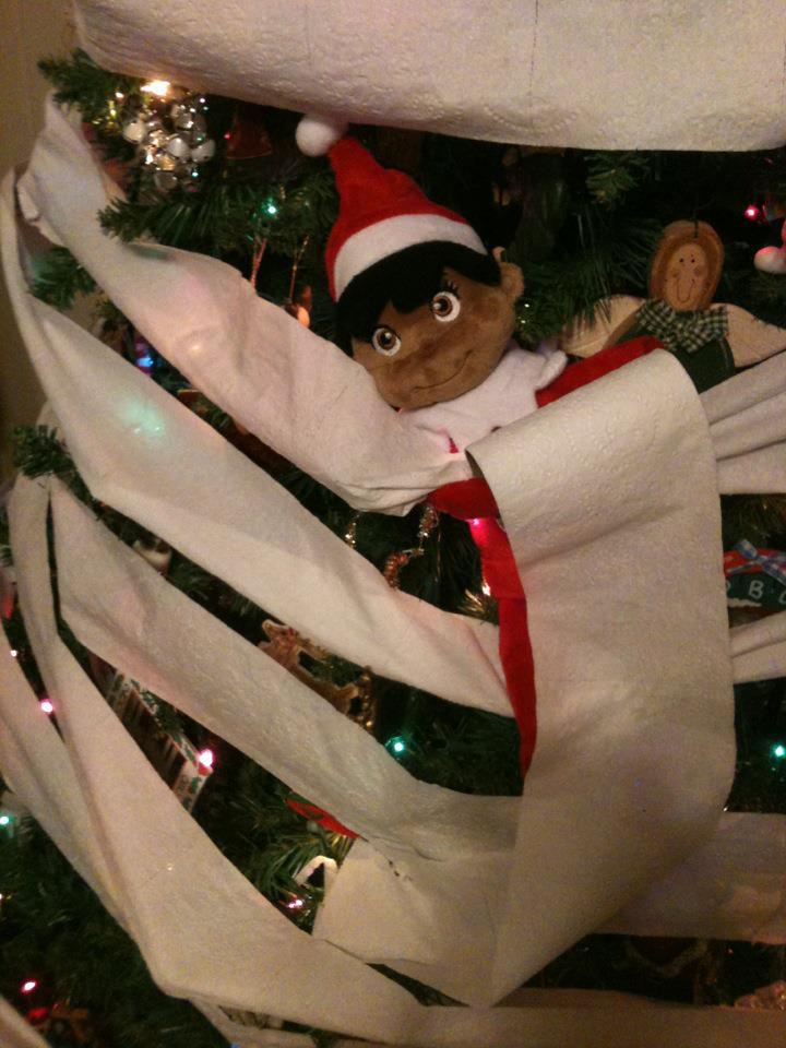 elf on the shelf idea 5