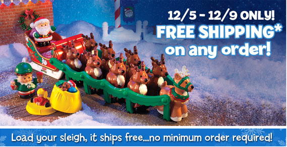 fisher price free shipping coupon code