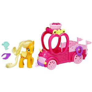 my little pony apple jack truck amazon toy deal