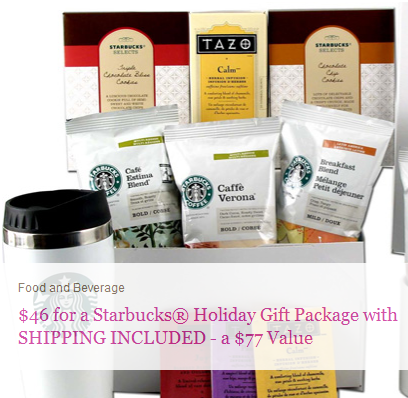 plum district starbucks holiday gift package