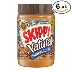 skippy natural super chunk peanut butter