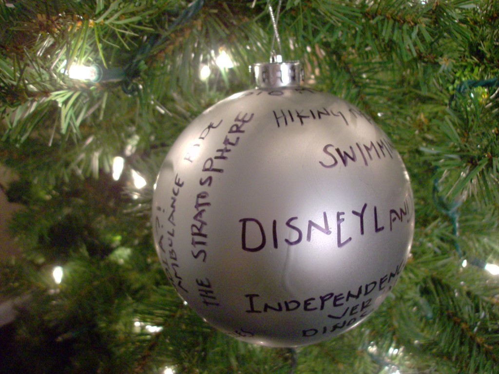 Homemade Christmas Decorations:  Memories Ornament