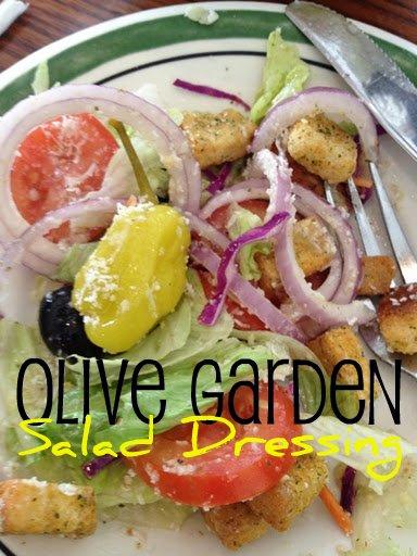 copycat recipe olive garden salad dressing