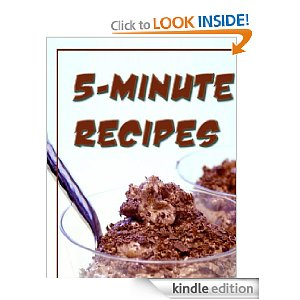 kindle freebie 5- minute recipe