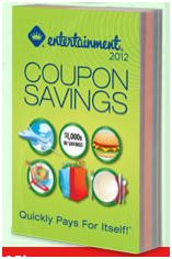 Entertainment Book 2012 - Coupons
