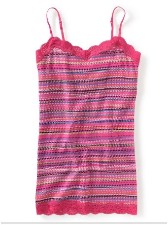 Girls Striped Cami - Aeropostale