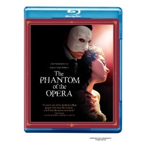 The Phantom of the Opera - blu ray - Amazon