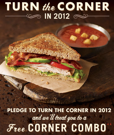 corner bakery restaurant coupon