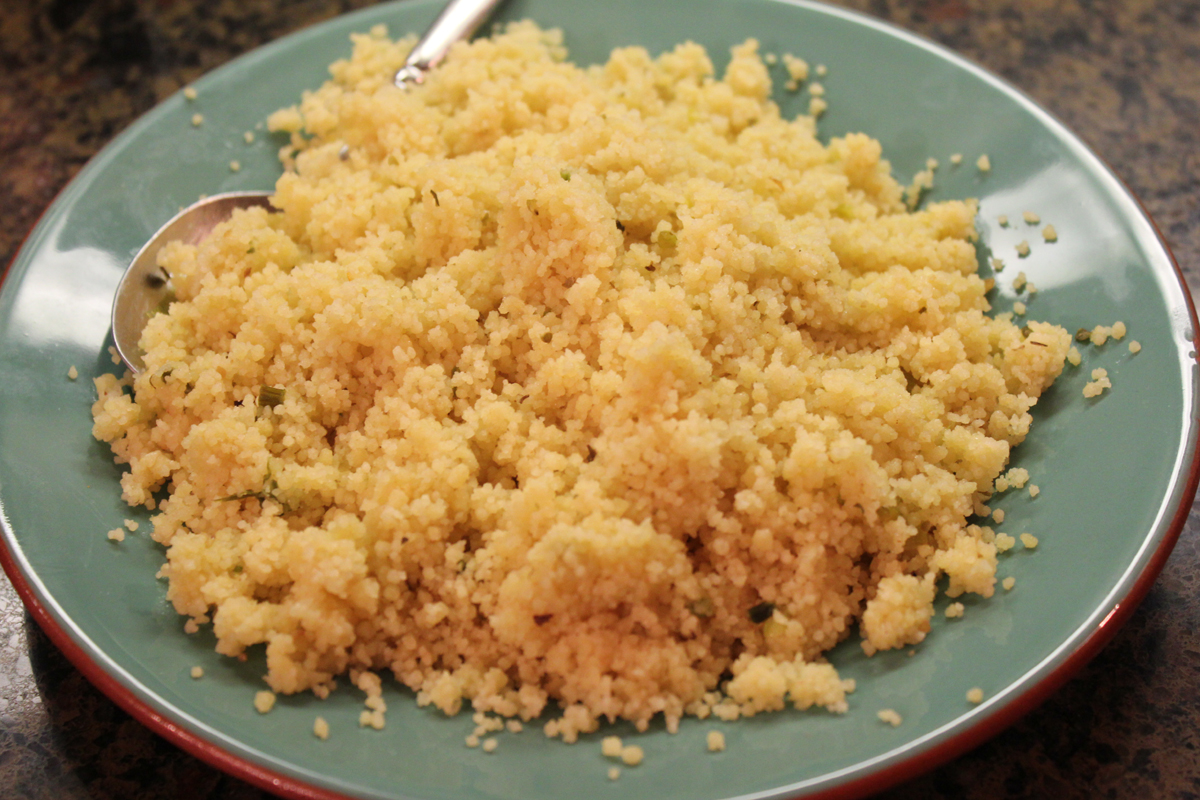 Download this Easy Parmesan Couscous... picture