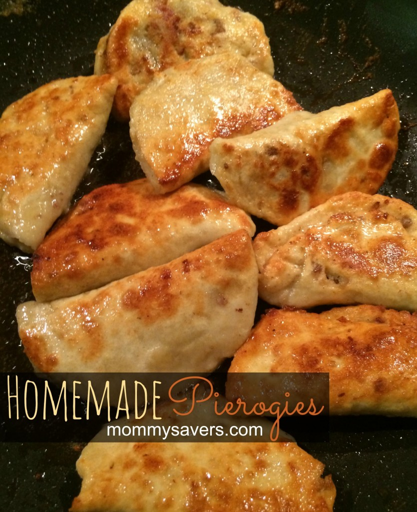 homemade pierogies for the freezer | mommysavers.com