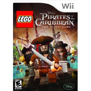 lego pirates of the carribean wii game