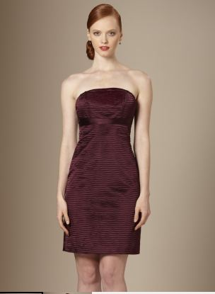pleated strapless dress the limited end of season sale