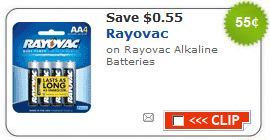 rayovac batteries coupon