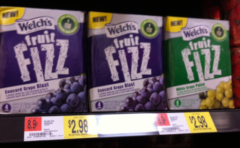 welchs fruit juice fizz coupon walmart deal